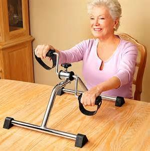 The elderly stroke onset of power equipment rehabilitation trainer bike machines leg health equipment
