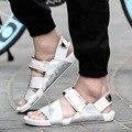 DreamShining Nueva Moda Casual Hombres Zapatos de Playa Flip Flop Sandalias Zapatillas de Verano Envío Rápido