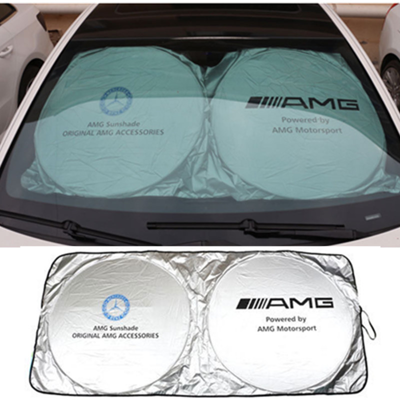 Car Sunshades Front Rear For Mercedes Benz W211 W203 W204 W124 W210 W220 W201 C260 for mercedes benz w211 w203 w204 w210 w124 amg w202 cla w212 w220 w205 w201 a class gla w176 clk w209 w204 car styling