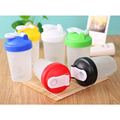 Proteína de Soro de leite Shaker Blender Mixer Copo Esportes esportes Fitness Gym 3 Camadas Multifuncional 500 ML Bpa Livre Garrafa Shaker V1479