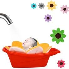 Baby Bathtub Newborn Foldable Flower Blooming Bathtubs Kids