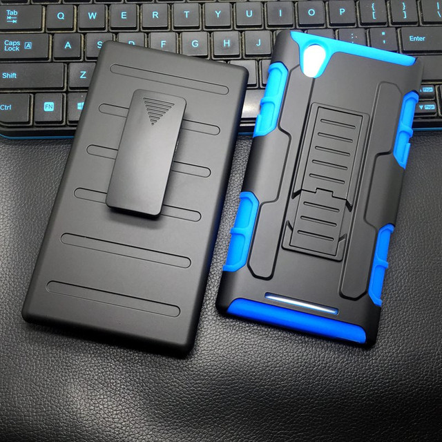 ZTE ZMAX Z970 Case, Future Armor Shock Proof Heavy Duty Stand Cases with Swivel Belt Clip Cover For ZTE ZMAX Z 970