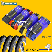 Michelin Bicycle Parts Fold Tire LITHION 2 Road Bike Tire 700*23c Comfortable High Quality Proof Tire Free Shipping