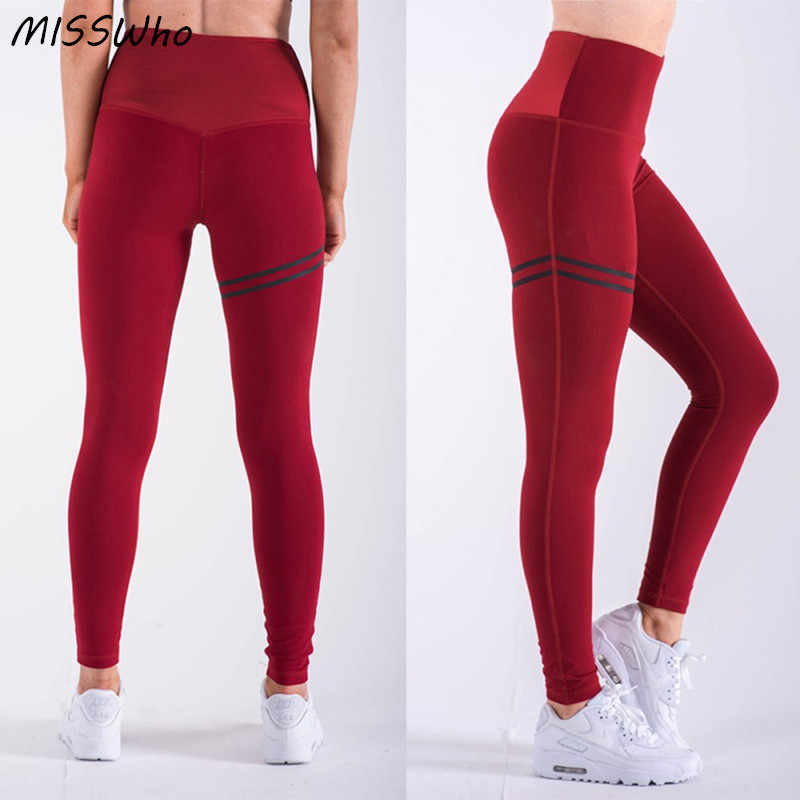 ea14c37c7b ... Yoga Pants Leggins Sport Women Fitness Stretch Elastic Trousers Running  Tights Sportswear Push Up Slimming Gym ...