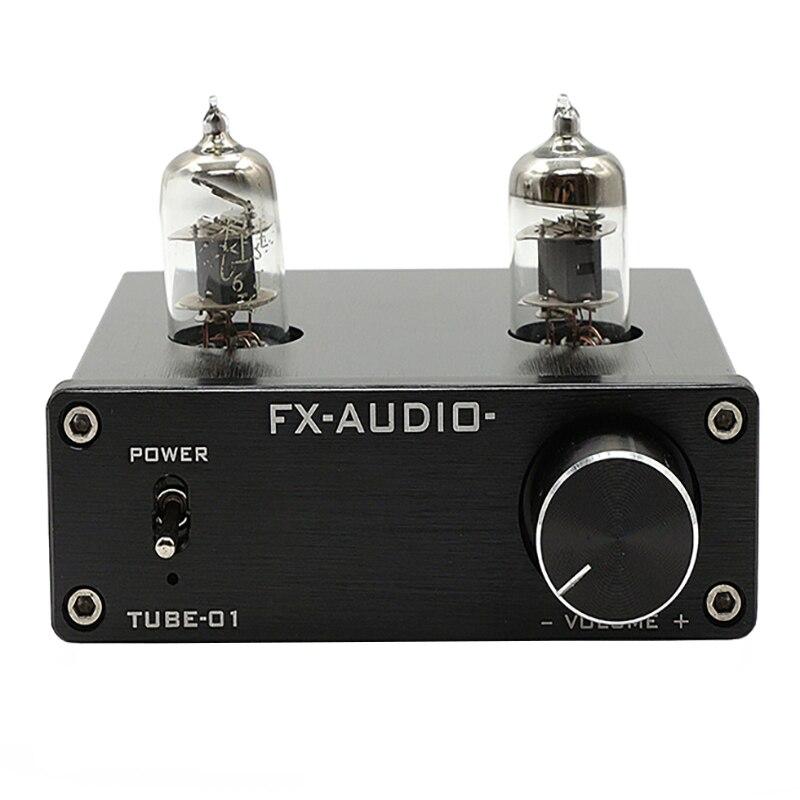 FEIXIANG TUBE de FX-AUDIO-01 amplificateur de tube de préampli biliaire tampon biliaire 6J1 MINI préamplificateur HIFI pré-amplificateur DC12V