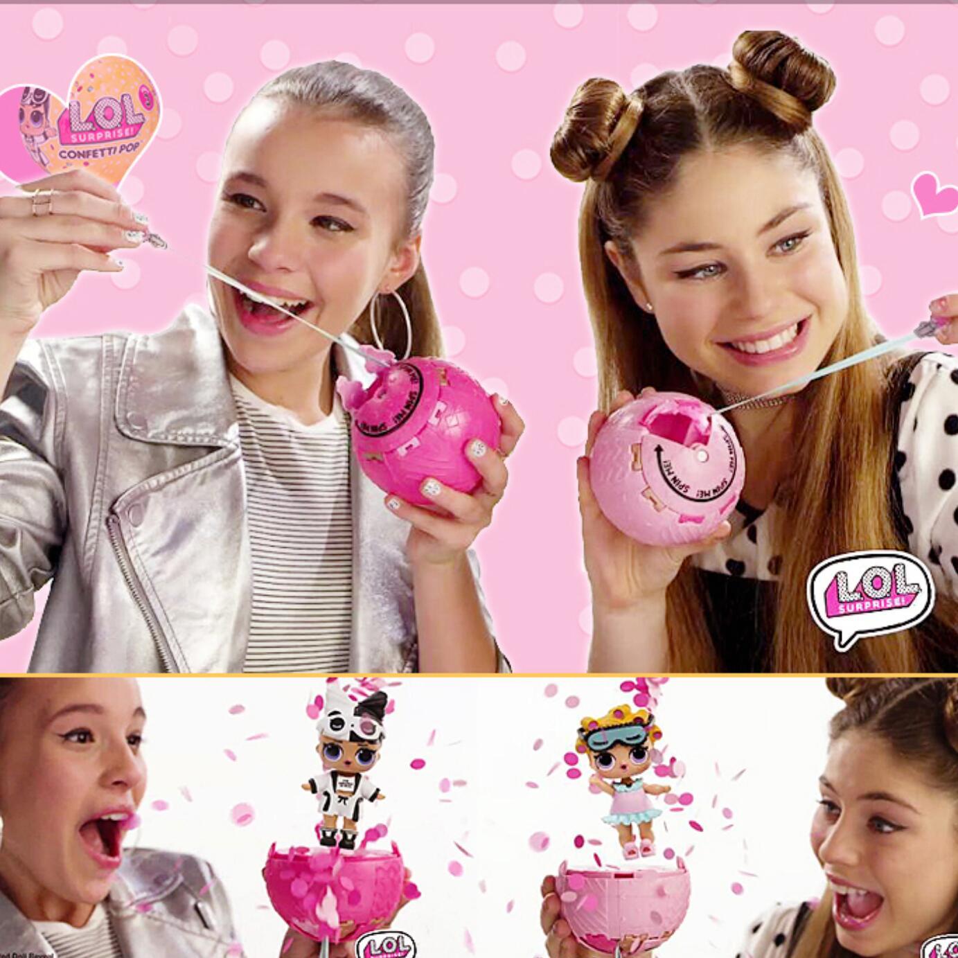 Surprise LOL Dolls Confetti Egg 22