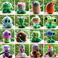 Varejo atacado 15 - 30 CM plantas vs Zombies brinquedos de pelúcia para crianças boneca de pelúcia macia de venda quente jogos de presente