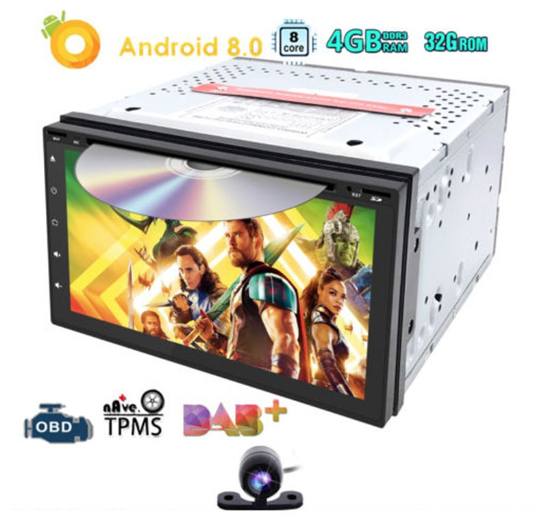 Hizpo Autoradio 2 din Android 8.0 Head Unit For Nissan qashqai Juke xtrail Multimedia GPS DVD Car Audio Stereo 4GB+32GB Wifi BT car 2 din android 8 0 gps for citroen c4 air cross peugeot 4008 autoradio navigation head unit multimedia 4gb 32gb px5 8 core