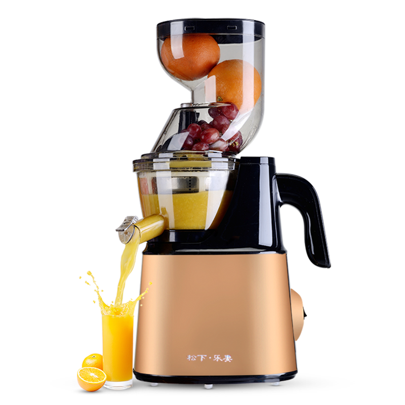 Korea original imported Large diameter Juice machine Household Fully automatic Juicer Slow ...