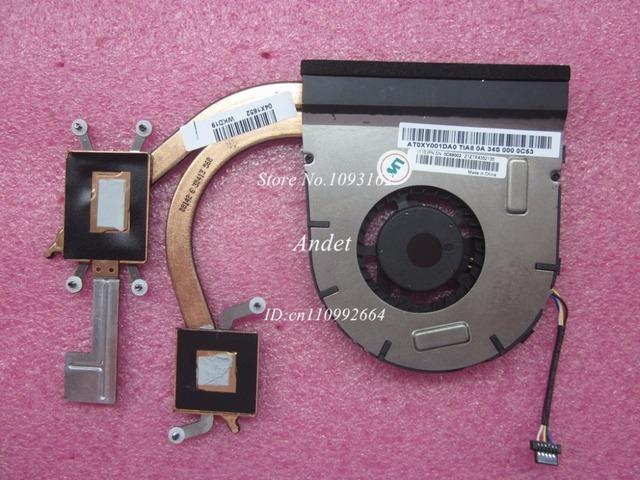 Nueva original para lenovo thinkpad s5 s531 gráficos discretos 04y1798 disipador cpu refrigerador ventilador de refrigeración 04x1652