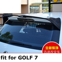 Apto para Volkswagen Golf 7 auto asa traseira spoiler Asa traseira em fibra de carbono de alta qualidade