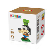 LOZ 9417 Mickey Series Goofy Classic Anime Characters Diamond Bricks Minifigures Building Block Best Toys Compatible with Legoe