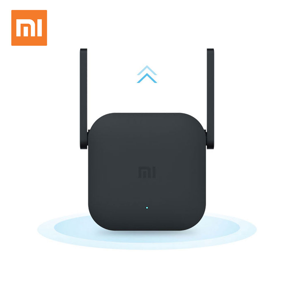 Original <font><b>Xiaomi</b></font> <font><b>Pro</b></font> 300M <font><b>WiFi</b></font> Router Amplifier Repeater Signal Cover Extender Roteador 2 Wireless Router <font><b>Repetidor</b></font> Mi repeater image