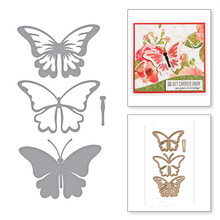 Butterfly Metal Cutting Dies Stencil DIY Card Album Making Scrapbooking Template Embossing Handicraft Die Cut 2019