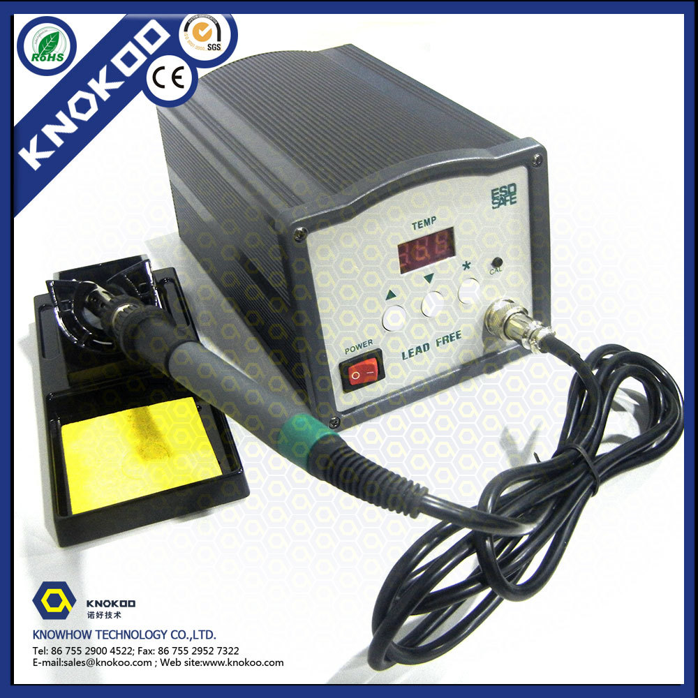 KNOKOO 150W 3000A Digital Welding Station Hibernation ESD safe lead-free high frequency soldering machine цена