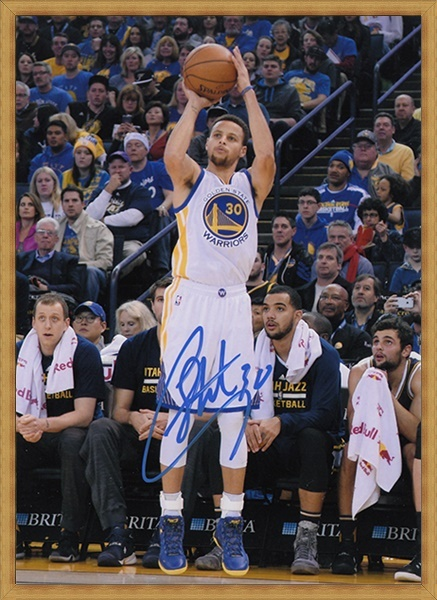 33c327be159 signed Stephen Curry autographed hand signed original photo football player  autographs 7 inches freeshipping 012018B