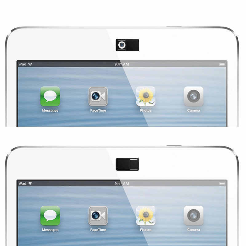 3 pcs להגן על פרטיות Webcam מכסה Ultra דק מצלמה מגן מגן מקרה עבור iPad Smartphone Tablet מחשב Mac מחשב נייד len