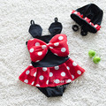 Kids/Children/Bebes Summer Cute Minnie Swimwear/Swimsuit Fille/Toddler/Baby Maillot de Bain/Bathing/Swimming Suit For Girls