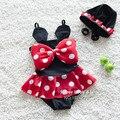 Los niños / niños / Bebes Summer lindo Minnie traje de baño / traje de baño Fille / niño / bebé Maillot de Bain / baño / de la natación traje para las muchachas