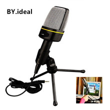 Universal Microphone Intelligent Reverberation IOS&Android Vintage Mini Microfon Wired Microfone Condenser
