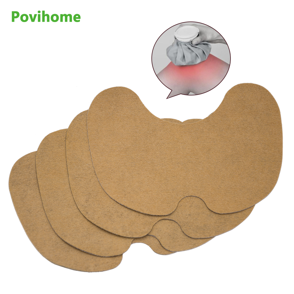 6pcs Knee Plaster Sticker Wormwood Extract Joint Ache Pain Relieving Paster Rheumatoid Arthritis Body Patch D1806