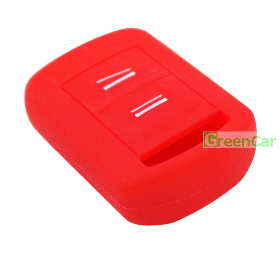 1 unids 2 botones cubierta de la caja de la llave del coche para Opel - Accesorios de interior de coche - foto 4