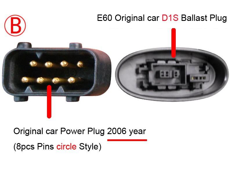 BMW E60 Plug B