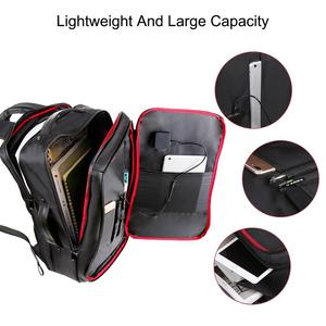 Image 4 - Haweel Flexible Solar Panel Backpacks Convenience Charging Laptop Bags for Travel 14W Solar Charger Daypacks &Handle &USB Port
