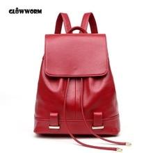 Женские мягкие Натуральная кожа дамы рюкзак высокое качество сумки на плечо рюкзаки для девочек-подростков элегантный дизайн путешествия школьная сумка