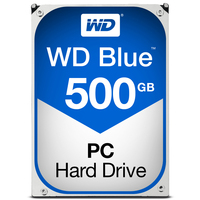 "Western Digital Blue, 3.5"", 500 GB, 5400 RPM, Serial ATA III, 64 MB, HDD"