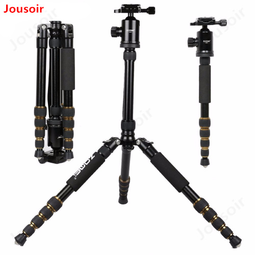 Professional Portable Z699 Aluminum Tripod for DSLR Camera Camcorder Travel Tripod Stand Removable Monopod with Ball Head CD15Professional Portable Z699 Aluminum Tripod for DSLR Camera Camcorder Travel Tripod Stand Removable Monopod with Ball Head CD15