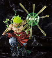 Anime Dragon Ball Z Super Saiyan Broly The Burnning Battles Ver. PVC Action Figure Collection Model Toys 32cm