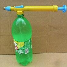 Мини Опрыскиватель Бутылки Из-Под Сока Интерфейс Пластиковые Тележки Пистолет Головы Давления Воды Сад Sopplies