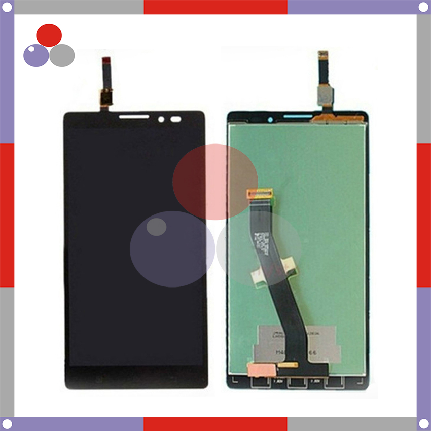 ФОТО 10Pcs/Lot Highest quality For Lenovo K910 LCD Screen Display + Touch Screen Digitizer Assembly DHL Free Shipping