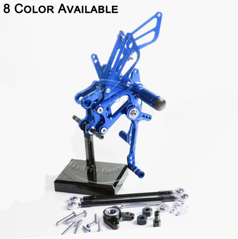 Fit For Honda CBR600RR Non-ABS 2009 2010 2011 2012 Motorcycle CNC Aluminum Footrests Rear Foot Pegs Foot Pedal Pegs Bracket Sets верстак bosch pwb 600 0603b05200