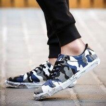 Большой размер 36-44 Летняя женская повседневная обувь для влюбленных обувь для ходьбы камуфляж Кружево-Up Туфли без каблуков в розницу новый бренд дышащая обувь YC247