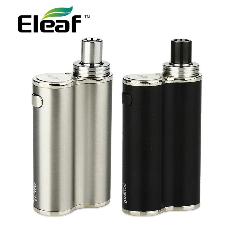 100% मूल Eleaf iJust X AIO किट 3000mAh मैक्स 50W 7 ml क्षमता सभी में एक शैली ई-सिगरेट के साथ EC 0.3ohm हेड