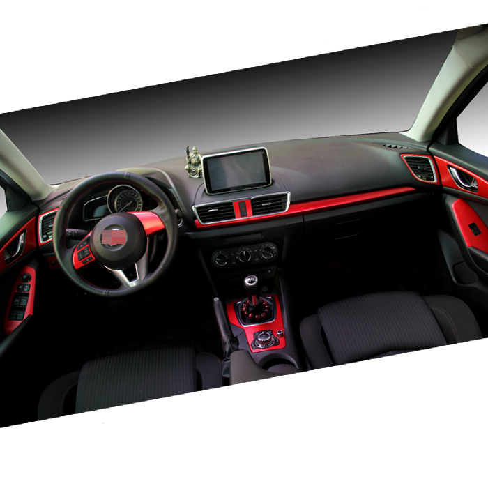Mazda Axela Üçün Yeni Avtomobil Daxili Mərkəzi Konsol Rəng - Avtomobil daxili aksesuarları - Fotoqrafiya 3