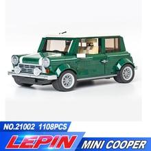 New Lepin 21002 technic series Cooper Model MK VII Building Kits Blocks Assemblage Bricks Compatible legoed 10242