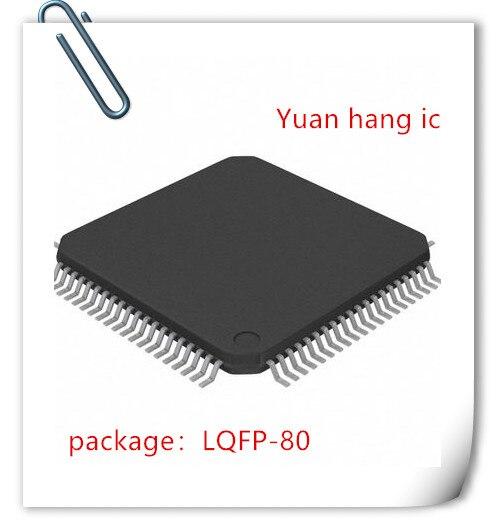 NEW 5PCS LOT TAS5076 TAS5076PFC LQFP 80 IC