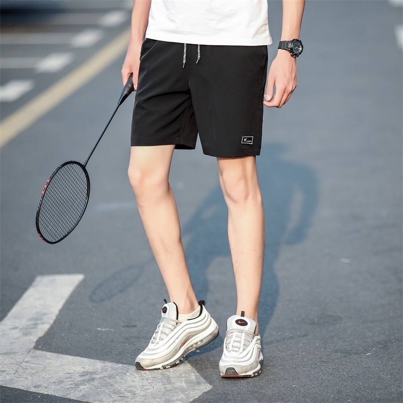 New Casual Shorts Men Summer Style Fitness Bodybuilding Shorts Fashion Leisure Quick Dry Breathable Cool Brand Beach Shorts Male
