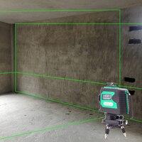 LETER электронный Выравнивающий лазерный луч 12 линий 3D лазерный уровень 360 лазер