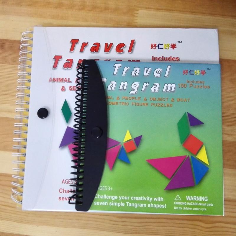 150/240 Puzzles Magnétique Voyage Tangram Un Enfants Éducatifs - Jeux et casse-tête - Photo 6