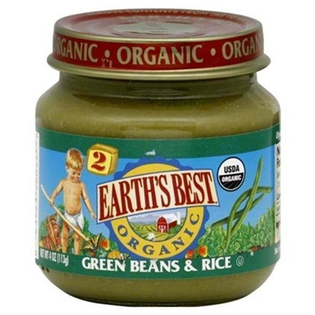 Earths Best Baby Foods BG12466 Earths Best Baby Foods Baby Green Bn-Rice - 12x4OZ malaysian ethnic festival foods