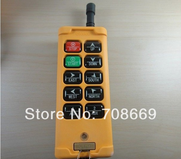 Image 2 - 10 Channels Control Hoist Crane Radio Remote Control System-in Switches from Lights & Lighting
