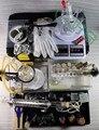 O envio gratuito de ferramentas conjunto de ferramentas equipamentos de laboratório de química experimento de laboratório, tubos de vidro ware, frasco, frascos de reagente de química