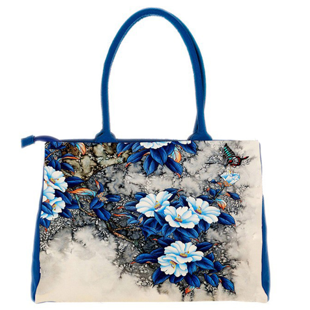 5x  bags handbags women Digital Printing beautiful floral canvas shoulder bags bag female bags handbags women digital printing beautiful floral canvas shoulder bags bag female