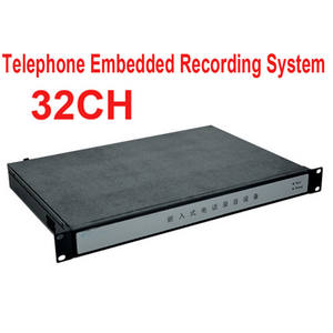 Telephone-Monitor 32channel 1000GB Logger Embedded Memory Enterprise-Use