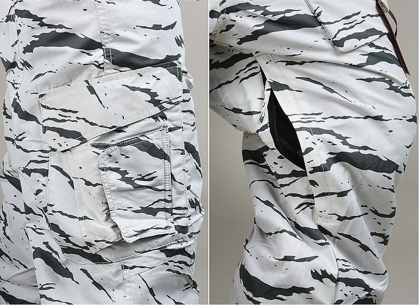 New Edition SouthPlay Winter Season Waterproof 10,000mm Pants-White Sand