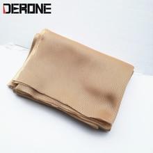 140 cm * 50 cm haut parleur tissu Grille filtre tissu maille tissu voiture haut parleur accessoires de protection